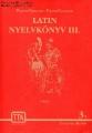 Latin nyelvkönyv III.