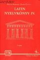 Latin nyelvkönyvek